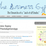 TheAdoptionApp reviewed by The Business Gypsy