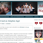 Adoption Magazine Shares theAdoptionApp